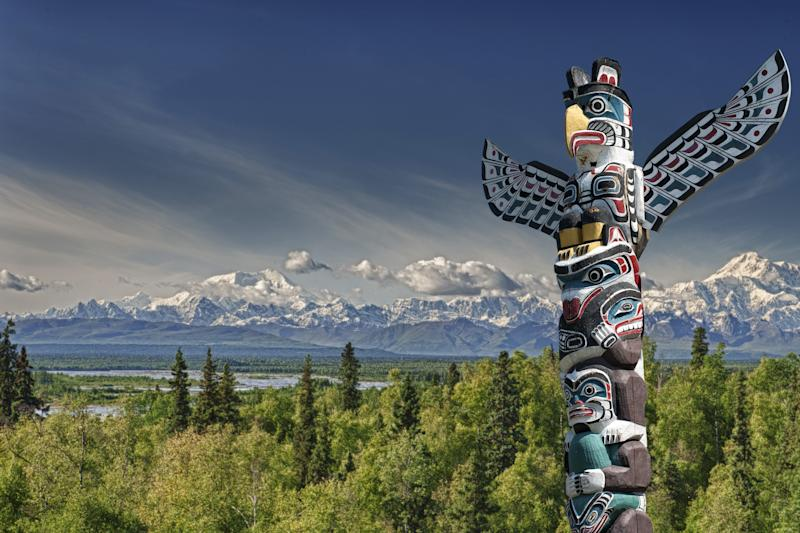 The totems are a piece of the city's history - Credit: Getty