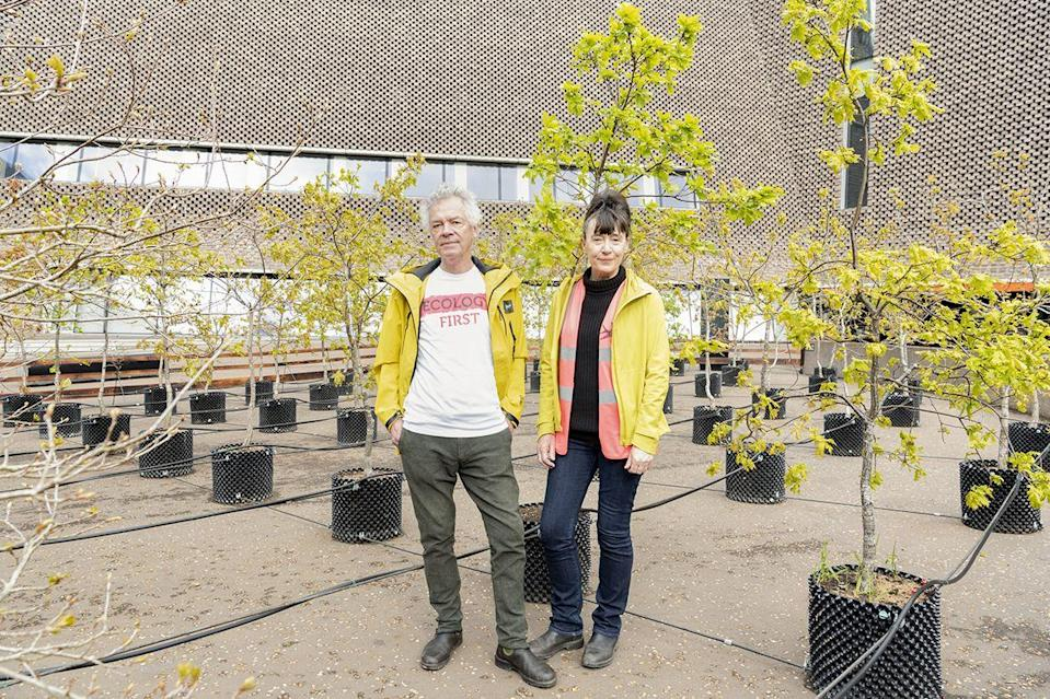 """<p>The South Terrace outside Tate Modern is currently home to 100 small oak trees, installed by the British artists Heather Ackroyd and Dan Harvey, as a piece of """"social sculpture"""" that reminds us of our connection to and impact on the natural world (Ackroyd & Harvey are co-founders of <a href=""""https://www.culturedeclares.org/"""" rel=""""nofollow noopener"""" target=""""_blank"""" data-ylk=""""slk:Culture Declares Emergency"""" class=""""link rapid-noclick-resp"""">Culture Declares Emergency</a>). But these are no ordinary oak trees: they are grown from acorns gathered from 7000 trees that the German artist Joseph Beuys planted in Kassel, Germany, between 1982 and 1987, as an ecological wake-up call. They have been installed to mark his centenary, and to restate the vital urgency of his message. </p><p>Now until 14 November, <a href=""""https://www.tate.org.uk/whats-on/tate-modern/exhibition/beuys-acorns"""" rel=""""nofollow noopener"""" target=""""_blank"""" data-ylk=""""slk:tate.org.uk"""" class=""""link rapid-noclick-resp"""">tate.org.uk </a></p>"""