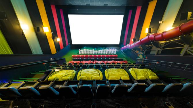 This Movie Theater Has A Jungle Gym Inside For Kids, Which Is A Genius Idea  Thatu0027s ...