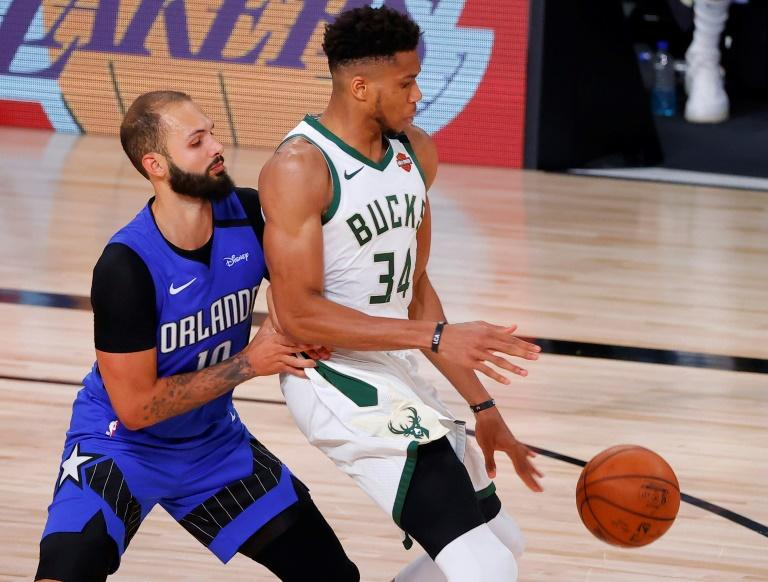 Bucks advance after triggering shutdown, Lakers snap playoff win drought