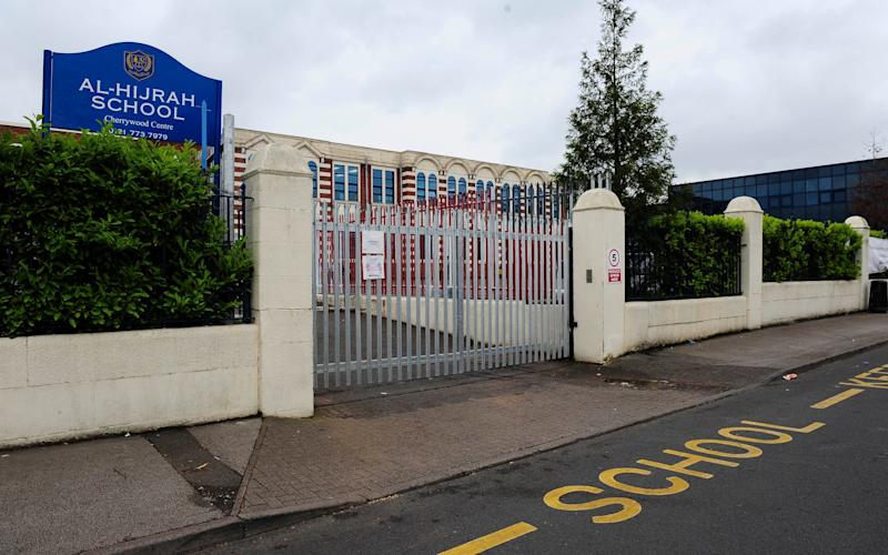 A 10-year-old boy has died allegedly from an allergic reaction to fish served at Al-Hijrah School.  - Credit: DAN ROWLANDS/CATERS NEWS