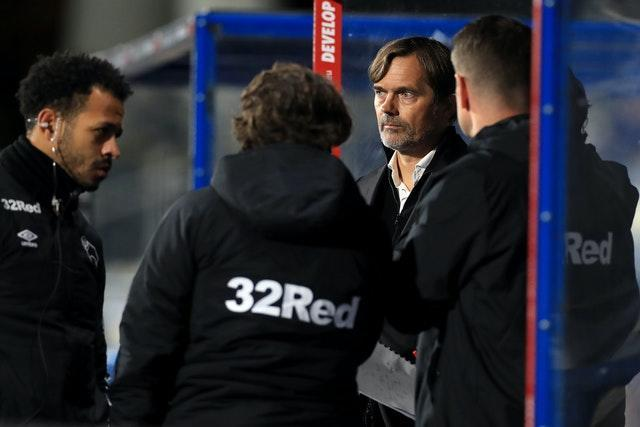 Phillip Cocu (centre) and two of his backroom staff have left the club