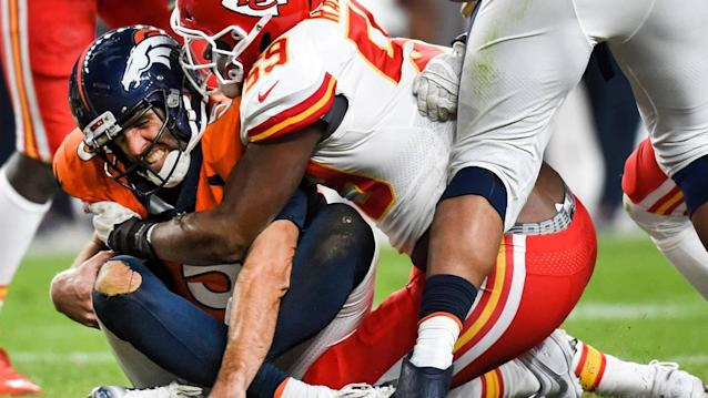 Chiefs' ability to stop Broncos' run game allowed defense 'to go hunt' Joe Flacco