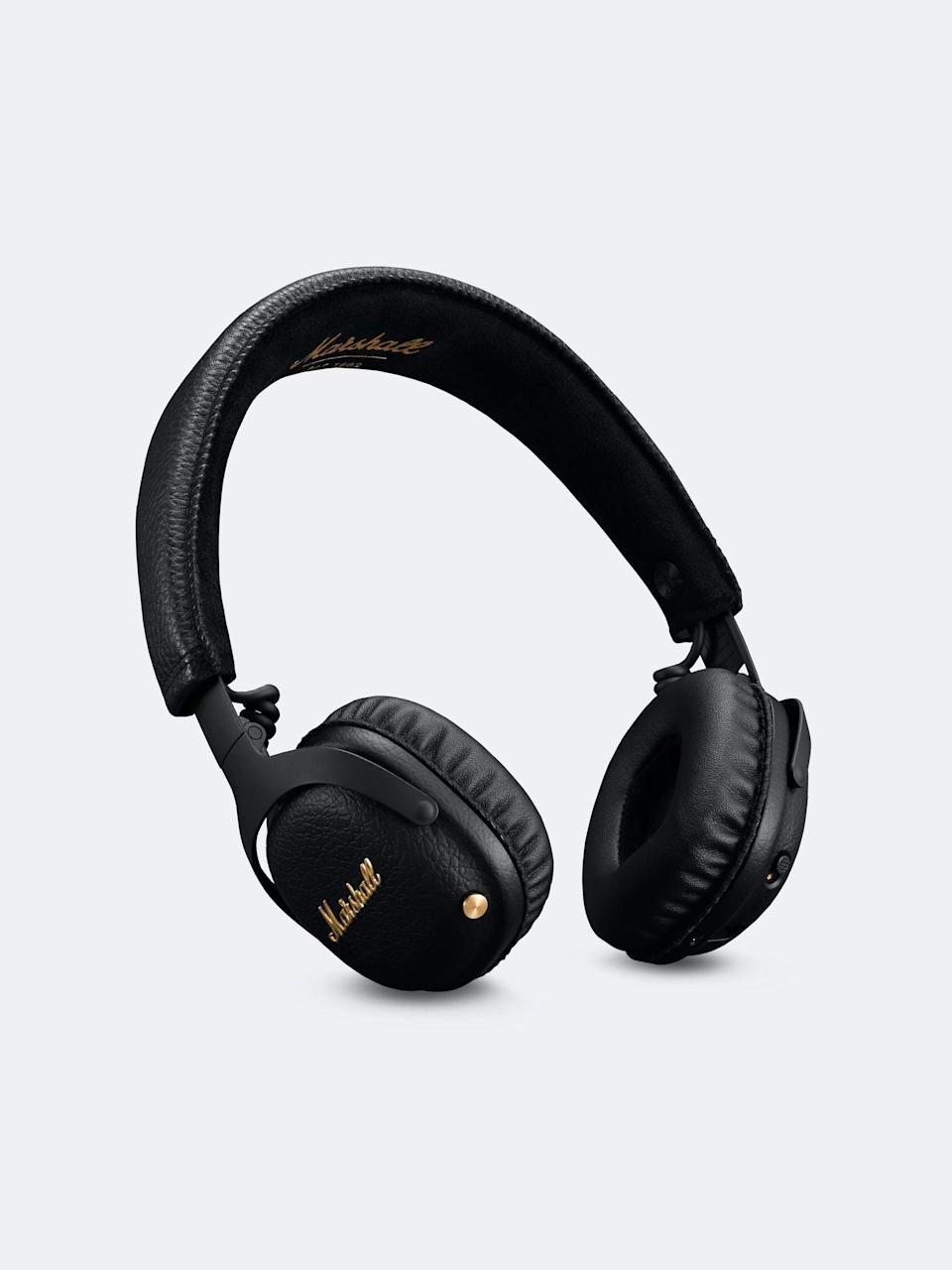 "<h3>Marshall Mid A.N.C. Bluetooth Headphones</h3> <br>Your love for your <em>bambino</em> is unconditional, but sometimes, you just need a moment of escape. Whether you're engaging in a ten-minute guided meditation or need to blast some Korn, noise-canceling headphones will help you tune out the world for a brief moment.<br><br><strong>Marshall</strong> Mid A.N.C. Bluetooth Headphones, $, available at <a href=""https://go.skimresources.com/?id=30283X879131&url=https%3A%2F%2Fwww.verishop.com%2Fmarshall%2Fheadphones%2Fmid-anc-bluetooth-headphones%2Fp4163173187607"" rel=""nofollow noopener"" target=""_blank"" data-ylk=""slk:Verishop"" class=""link rapid-noclick-resp"">Verishop</a><br>"