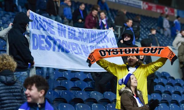Blackpool fans boycott League Two play-off final against Exeter's jolly volunteers