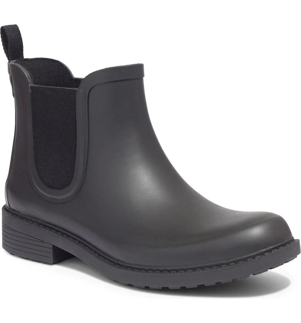 <p>You're going to love these comfortable <span>Madewell The Chelsea Rain Boots</span> ($68). Customers rave about how versatile they are.</p>
