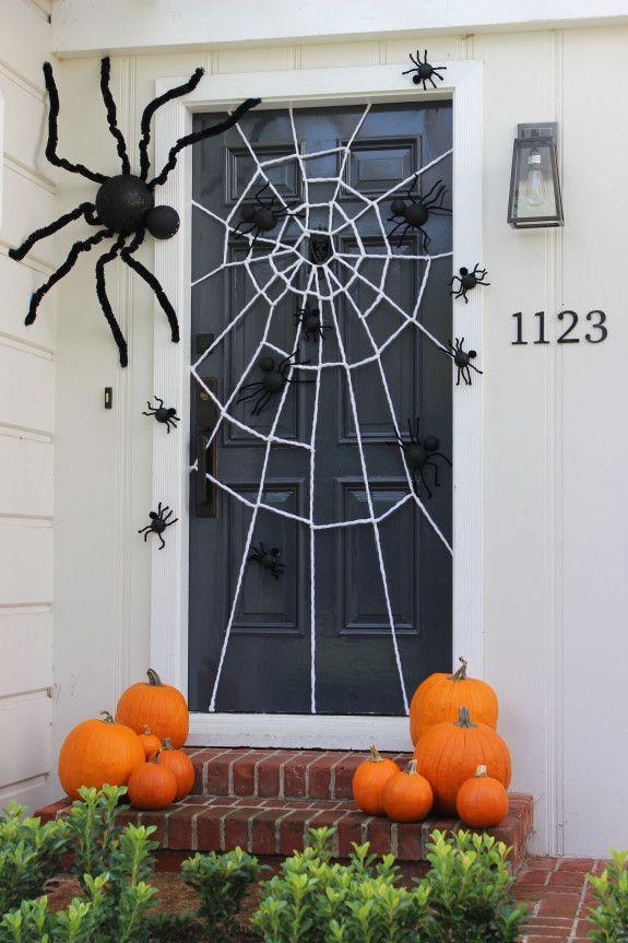 "<p>Give your guests the creeps with this spidery scene crafted from yarn and painted styrofoam balls. </p><p><strong>Get the tutorial at <a href=""https://janecanblogdotcom.wordpress.com/2015/09/23/a-creepy-crawly-halloween/"" rel=""nofollow noopener"" target=""_blank"" data-ylk=""slk:Jane Can"" class=""link rapid-noclick-resp"">Jane Can</a>.</strong></p><p><a class=""link rapid-noclick-resp"" href=""https://www.amazon.com/Red-Heart-Super-Saver-Jumbo/dp/B00580663C/?tag=syn-yahoo-20&ascsubtag=%5Bartid%7C10050.g.22350299%5Bsrc%7Cyahoo-us"" rel=""nofollow noopener"" target=""_blank"" data-ylk=""slk:SHOP WHITE YARN"">SHOP WHITE YARN</a><br></p>"