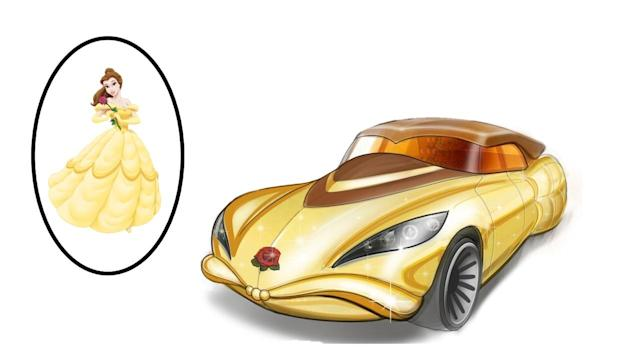 Belle (Image: Mattel/Hot Wheels Design Team)