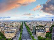 <p>Sure, gazing from the top of the Arc de Triomphe onto Paris's main avenue is basically looking at a concrete jungle. But it's the prettiest damn concrete jungle in the world.</p>