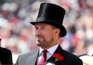 <p>The Princess Anne's son Peter Phillips also rode in the carriage with his grandmother.</p>