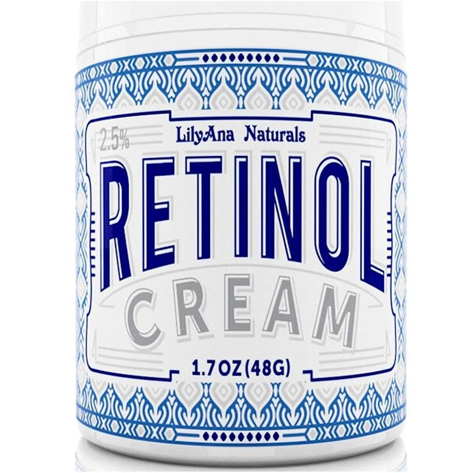 <p>Retinol works wonders, but can also leave skin feeling super sensitive, flaky, and dry. You won't have to worry about that with the <span>LilyAna Naturals Retinol Cream</span> ($22), which is boosted with skin-plumping hyaluronic acid, vitamin E, and green tea.</p>