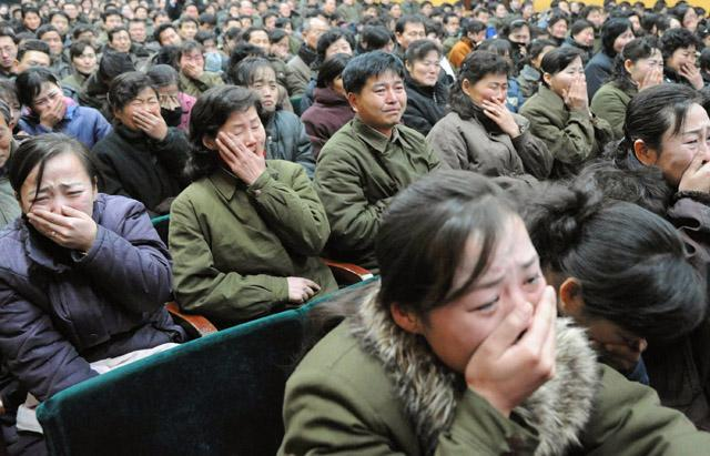 North Korean Mourning May Be Real, But It's a Matter of Survival, Too