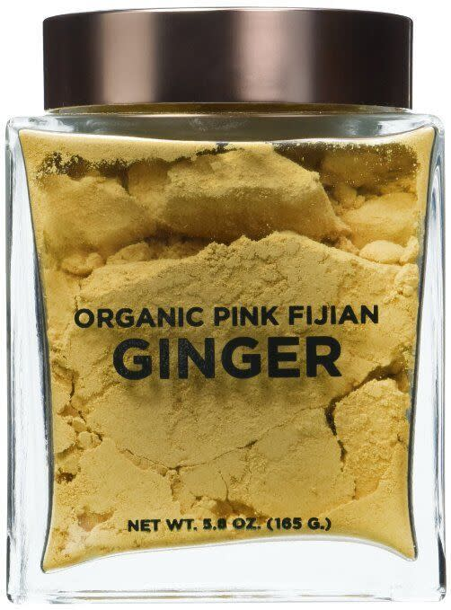 "<p>A superfood in the most beautiful packaging. <a href=""http://www.amazon.com/Wakaya-Perfection-Organic-Fijian-Ginger/dp/B00M0CBWG2%3FSubscriptionId%3DAKIAIXRCKIWRJ6HMD2WA%26tag%3Dnmrkt-5-20%26linkCode%3Dxm2%26camp%3D2025%26creative%3D165953%26creativeASIN%3DB00M0CBWG2"" rel=""nofollow noopener"" target=""_blank"" data-ylk=""slk:Wakaya Ginger"" class=""link rapid-noclick-resp"">Wakaya Ginger</a> ($76)</p>"