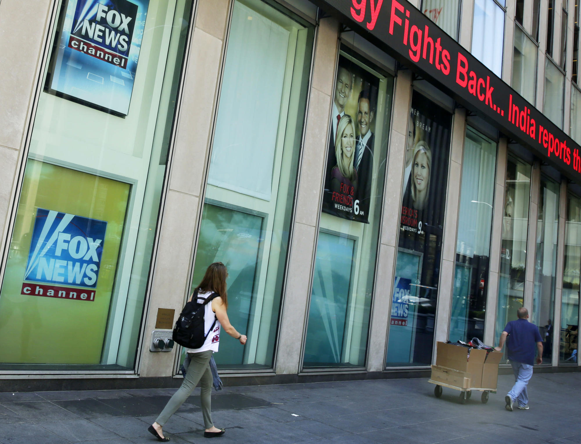 Pressure mounts, rifts emerge at Fox News over election