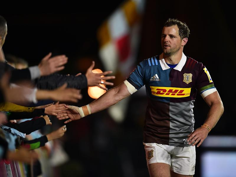 Evans says goodbye to the Stoop faithful: Getty