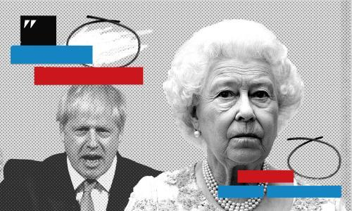 How unusual was the language of Johnson's first Queen's speech?