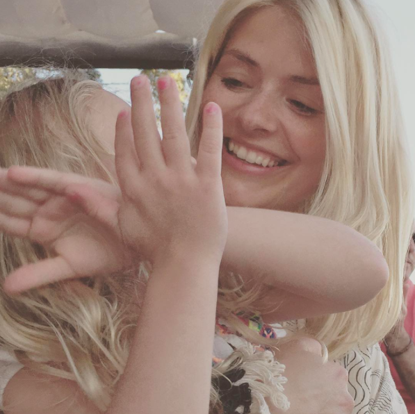 Guess what Holly Willoughby's daughter and Blue Ivy have in common?