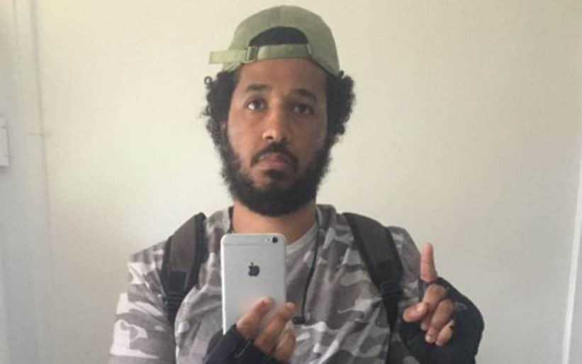 Abu, 27, allegedly bought an 18-inch sword, body armour, a Persian knife, and a combat hat and gloves before his arrest last July 9. - Central News
