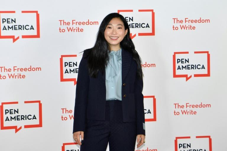 US actress Awkwafina attends the Pen America Literary Gala at the American Museum of Natural History on October 5, 2021 in New York City (AFP/Angela Weiss)