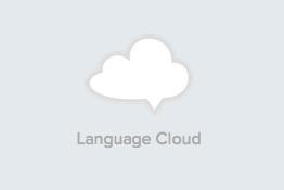 language cloud