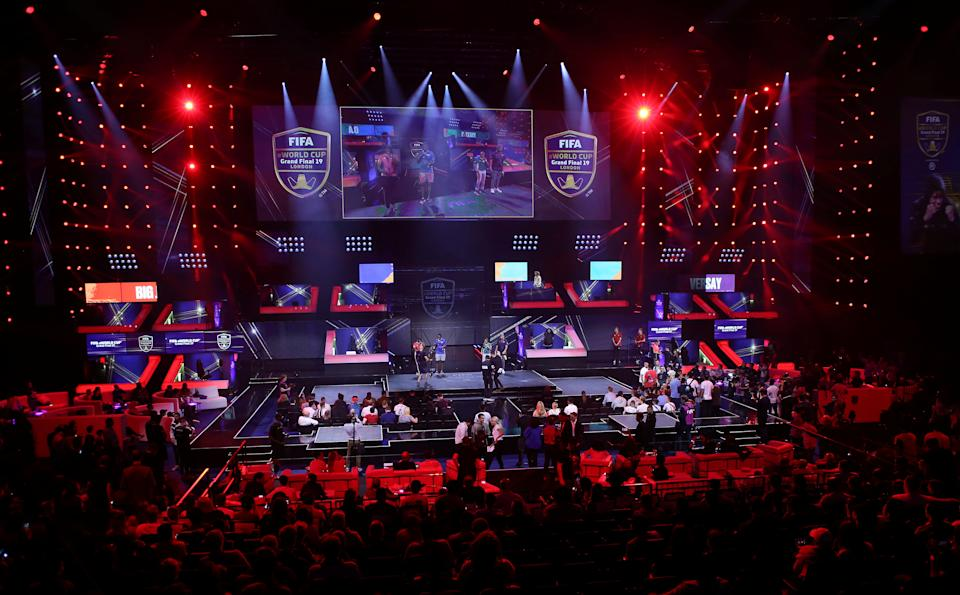 Esports - FIFA eWorld Cup Grand Final 2019 - O2 Arena, London, Britain - August 4, 2019   General view on finals day   REUTERS/Tom Jacobs