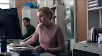 """<p><strong>Ozark</strong>'s <a href=""""https://www.popsugar.com/entertainment/what-has-julia-garner-been-in-46667569"""" class=""""link rapid-noclick-resp"""" rel=""""nofollow noopener"""" target=""""_blank"""" data-ylk=""""slk:Julia Garner"""">Julia Garner</a> plays Jane, an aspiring producer who lands an assistant job working for one of the biggest names in the film industry. Over the course of one day in her stressful job, she learns that her boss is harassing women and tries to stand up against his misuse of power - only to learn how deep the abuse runs. </p> <p><a href=""""http://www.hulu.com/movie/the-assistant-94c3d0f4-b5d2-4252-aa12-b959e3f5c6f3"""" class=""""link rapid-noclick-resp"""" rel=""""nofollow noopener"""" target=""""_blank"""" data-ylk=""""slk:Watch The Assistant on Hulu."""">Watch <strong>The Assistant</strong> on Hulu.</a></p>"""
