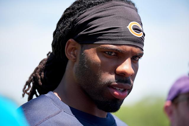 Kevin White is still seeking his first NFL touchdown after being released by the Arizona Cardinals. (Getty)