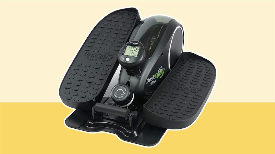 DeskCycle under-desk elliptical machine