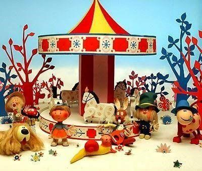 As the name suggests, this is perhaps one of the most magical children's television shows screened to date, featuring the day-to-day lives of characters who live near to the park which hosts the titular roundabout. The original slot during the seventies had the show broadcast before the evening news – when this was changed to an earlier viewing time to suit its younger audience, adults complained furiously as they were unable to watch.