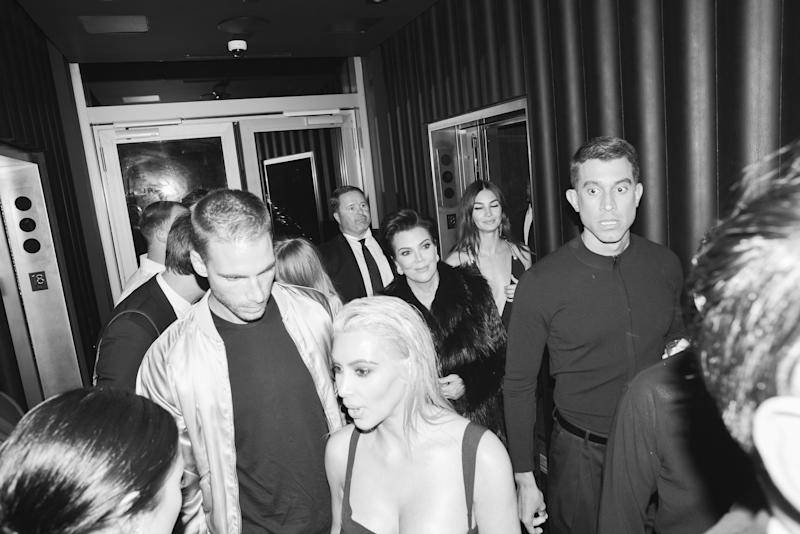 The scene at Mert Alas and Marcus Piggott's book launch party at the Public Hotel.