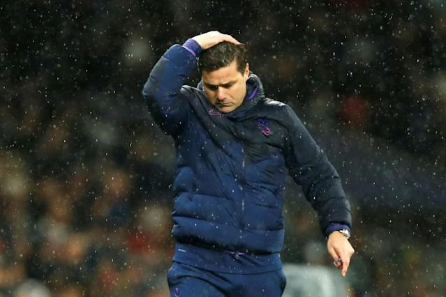 Mauricio Pochettino's Tottenham have won just two of their last 11 Premier League games (AFP Photo/Ian KINGTON)