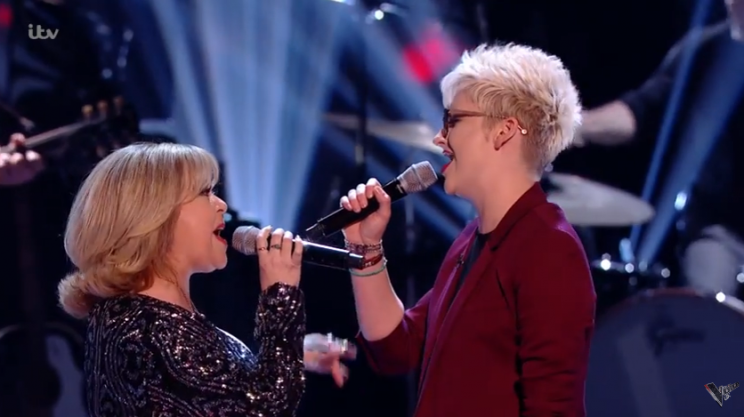 Liza and Georgie's battle was one of few favourites