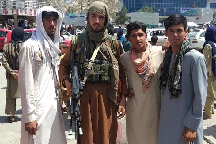 The Taliban appear to have met little resistance on the ground in their offensive