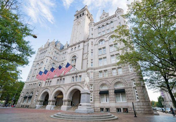 PHOTO: In this Oct. 31, 2016, file photo, the Trump International Hotel Washington, D.C. at the Old Post Office is shown in Washington, D.C. (GC Images via Getty Images, FILE)