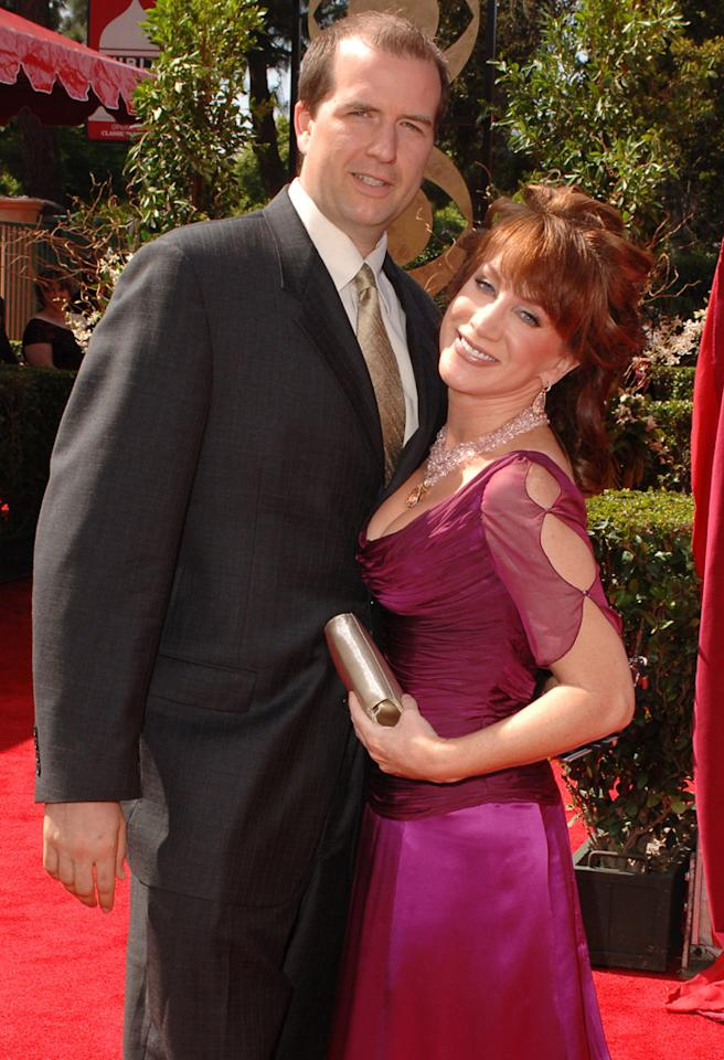 Matt Moline and Kathy Griffin (Photo by SGranitz/WireImage)
