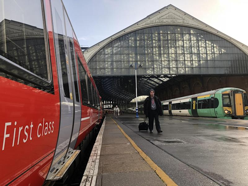 Coastal cut: the peak fare between Brighton and London would fall by £20 to just £7.50 under Labour: Simon Calder