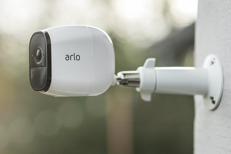 smart home devices Arlo Pro by NETGEAR Security System with Siren