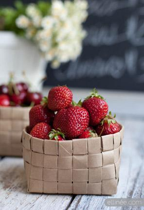 """<div class=""""caption-credit""""> Photo by: Elinee</div><div class=""""caption-title"""">Paper Bag Fruit Baskets</div>I am obsessed with these pretty little fruit baskets, made from upcycled brown paper shopping bags! Too easy. <br> <a href=""""http://www.babble.com/crafts-activities/upcycled-10-crafts-that-you-can-make-from-trash-and-turn-into-treasure/?cmp=ELP bbl lp YahooShine Main  031313  Upcycled10CraftsThatYouCanMakeFromTrashAndTurnIntoTreasure famE   """" rel=""""nofollow noopener"""" target=""""_blank"""" data-ylk=""""slk:Get the tutorial at Ellinée"""" class=""""link rapid-noclick-resp""""><i>Get the tutorial at Ellinée</i></a>"""