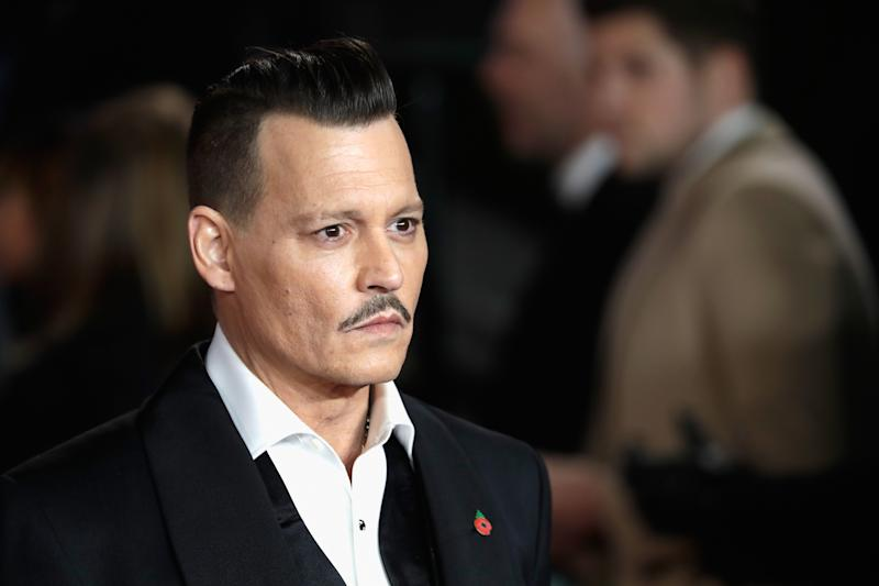 Johnny Depp 'punched crew member in drunken tirade'