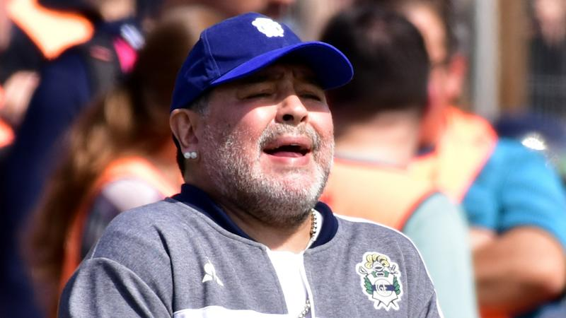 'My soul hurts' - Maradona rues defeat to Racing in Gimnasia debut