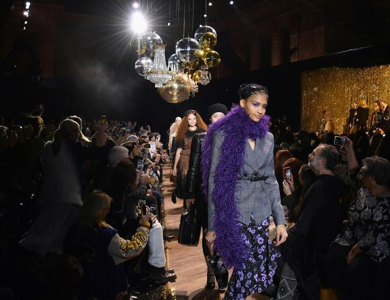 The Michael Kors runway show in February 2019 during New York Fashion Week (AFP/Angela Weiss)
