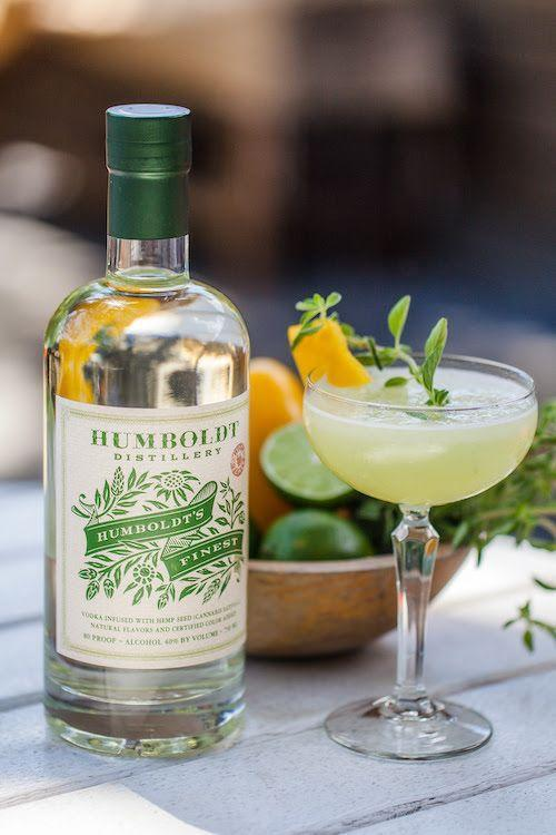 "<p><strong>Ingredients</strong></p><p>2 oz Humboldt's Finest <br>1 oz Green Chartreuse <br>1 oz dry vermouth</p><p><strong>Instructions</strong></p><p>Build all ingredients in a shaker tin with ice and shake. Strain into a coupe. Garnish with a mint sprig.</p><p><strong>More: </strong><a href=""https://www.townandcountrymag.com/leisure/drinks/g3077/vodka-cocktails/"" rel=""nofollow noopener"" target=""_blank"" data-ylk=""slk:The Best Vodka Cocktails"" class=""link rapid-noclick-resp"">The Best Vodka Cocktails </a></p>"