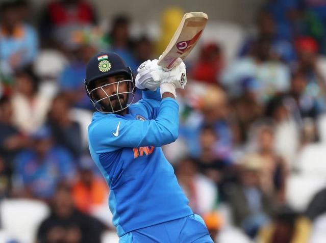 FILE PHOTO: India's KL Rahul in action