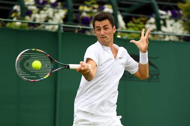 Bernard Tomic found himself in hot water following his controversial post-match comments. (Getty Images)