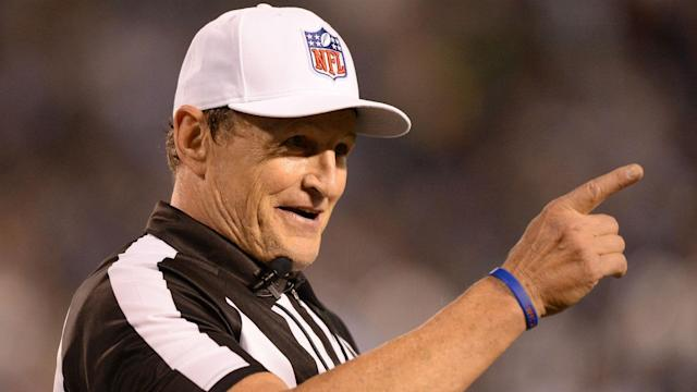 What Ed Hochuli did for Tyrod Taylor is being held up as an example for other officials.