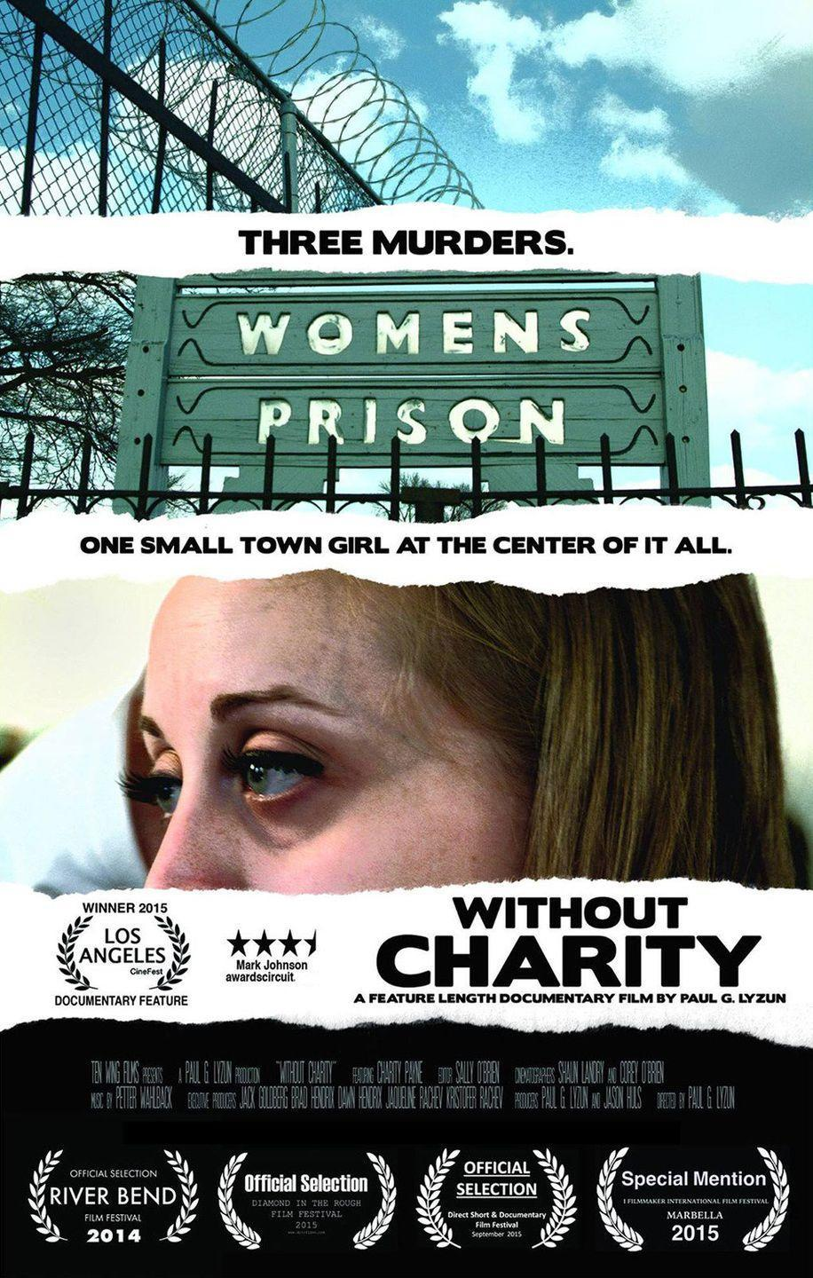 """<p>In this documentary, you'll get only one side of a murder case. <em>Without Charity </em>is about Charity Payne, a woman who, at 18 years old, helped four men plan to rob her ex-boyfriend's house. She told them how to bypass the alarm system, but when they got there, they ran into three carpenters who were making repairs. </p><p>All three were robbed, bound, and killed. Though she wasn't at the crime scene, her role was critical, so she was sentenced to prison. She served just four years of her 165-year sentence and, upon her release, told her side of the story.</p><p><a class=""""link rapid-noclick-resp"""" href=""""https://www.amazon.com/Without-Charity-Payne/dp/B01J4SRDDA?tag=syn-yahoo-20&ascsubtag=%5Bartid%7C2140.g.28068183%5Bsrc%7Cyahoo-us"""" rel=""""nofollow noopener"""" target=""""_blank"""" data-ylk=""""slk:Watch Now"""">Watch Now</a></p>"""