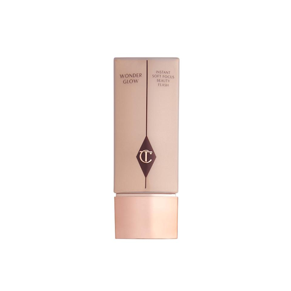 "<p>This radiace-inducing primer helps create a dewy canvas to give makeup a lit-from-within effect. The models <a rel=""nofollow"" href=""https://www.yahoo.com/lifestyle/victoria-apos-secret-fashion-show-004630352.html"">reportedly didn't wear any highlighter</a> on the runway — this primer really made them glow!<br /><strong><a rel=""nofollow"" href=""https://fave.co/2OAmjJS"">Shop it</a>:</strong> $55, <a rel=""nofollow"" href=""https://fave.co/2OAmjJS"">charlottetilbury.com</a> </p>"