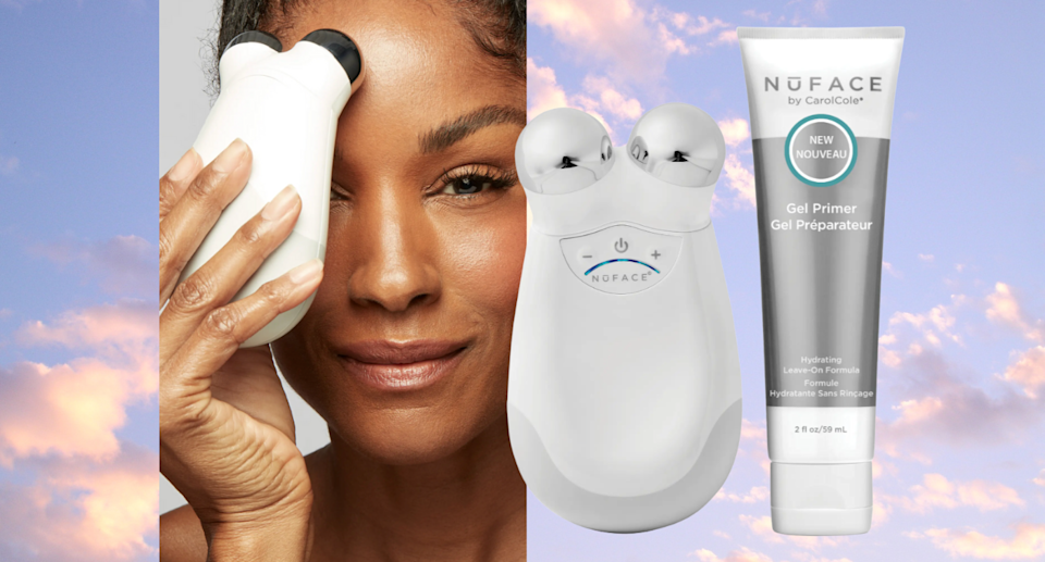 The cult-favourite NuFace device is 40% off during the Nordstrom Anniversary Sale (Photos via Nordstrom)