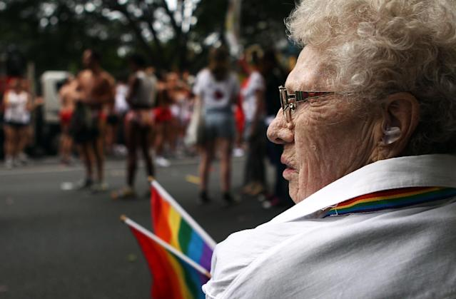 LGBT seniors, already facing health and financial issues of aging, can be more vulnerable to isolation and harassment. (Photo: Getty Images)