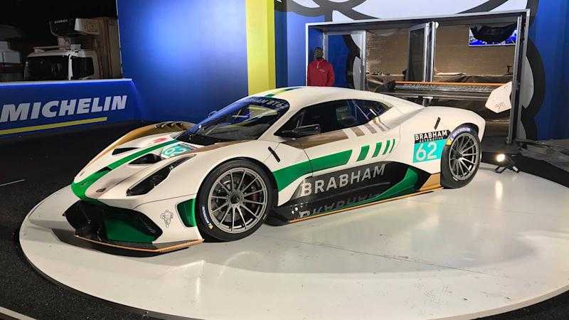 Brabham BT62 makes liveried debut